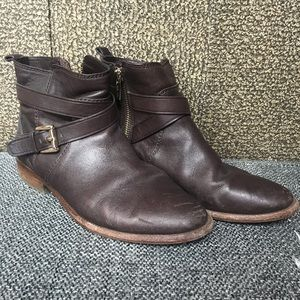 Coach Lannah ankle boots in brown